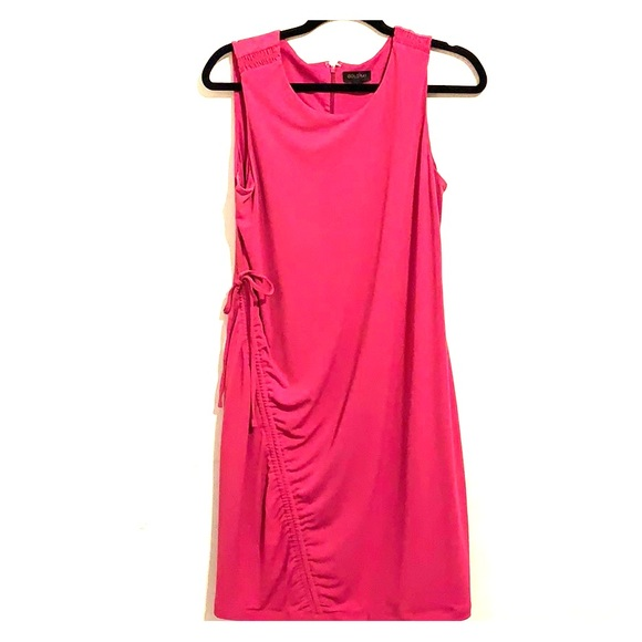 Dresses & Skirts - Sleeveless pink gold ray dress